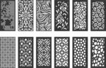 Pattern vectors dxf file for cnc
