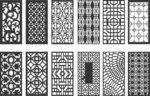 Pattern vectors dxf