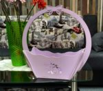 'Decorative Flower Candy Basket With Handle