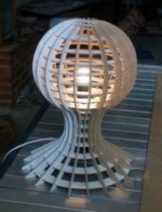 Lamp With Globe Detail dxf File