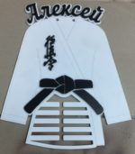 Laser Cut Black Belt Karate Martial Arts Medal Hanger Display Rack