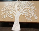 Laser Cut Tree Wall Decor Template Free Vector