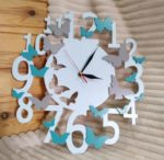 Butterfly Wall Clock Gift Ideas For Laser Cutting