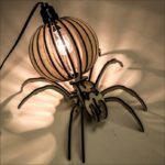Spider Desktop Lamp dxf File