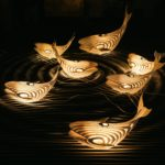Laser Cut Wooden Whale Lamp 4mm Template