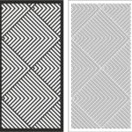 Linear Pattern Vector Art Free Vector