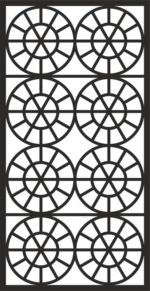Grate Design Pattern dxf File
