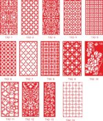 Ornamental Panel Jali Design Vectors Free Vector