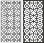 Xinjiang pattern vector Free Vector