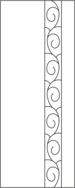 Vinyl cabinet design s-011 vector Free Vector
