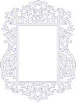 Decorative Frame Laser Cut PDF File is a vector