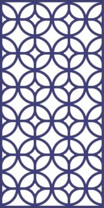 Decorative Coin Pattern Art dxf File