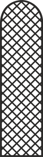 Simple Door Grill Design Vector Free Vector