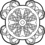 Celtic Knot Pattern Free Vector