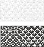 Laser Cut Vector Panel Seamless Floral Pattern Free Vector