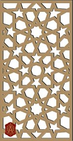 PATTERN  ARABESQUEFREE VECTOR  ARB-018  DXF