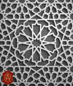 PATTERN ARABESQUE FREE VECTOR  DXF  AI