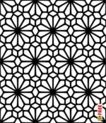 PATTERN ARABESQUE VECTOR DXF