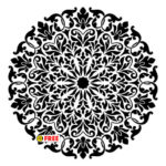 PATTERN  ARABESQUEFREE VECTOR   ARB-90551F  DXF