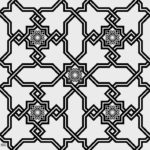 PATTERN ARABESQUE FREE VECTOR DXF