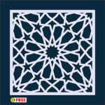 PATTERN ARABESQUE VECTOR    DXF – AI