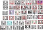 CNC Patten Door Vector Design