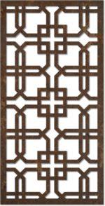 Jali Design Pattern For Interior dxf File