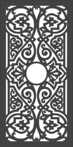 PATTERN – 2 – VECTOR DXF