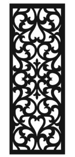 Panel Decor Rectangle 0003 dxf