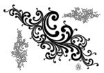 PATTERN ARABESQUE FREE VECTOR
