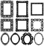 Free mirror vector cnc files free dxf files downloads