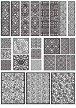 Decorative Pattern Free DXF file library Download