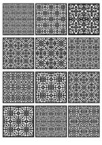 Free Vector Patterns Laser Cut art Files
