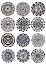 Download free Mandalas vector for Laser Cutting