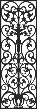 Vectorized fretwork pattern Free Vector