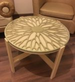 Free cnc file table decor pattern round