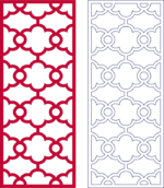 Lattice Pattern dxf File