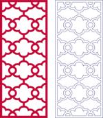 Lattice Pattern dxf File