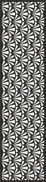 Quartet Continuous Pattern Design Free Vector