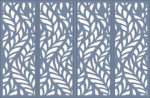 CNC Plasma Cut Pattern CDR File