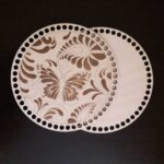 Laser Cut Bottoms For Knitting Butterfly Layout Free CDR