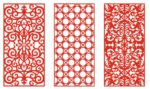 Pattern Screen Panel 1552 Free CDR
