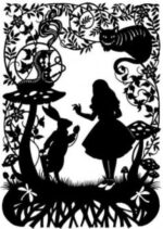 Laser Cut Alice In Wonderland Layout Free DXF File